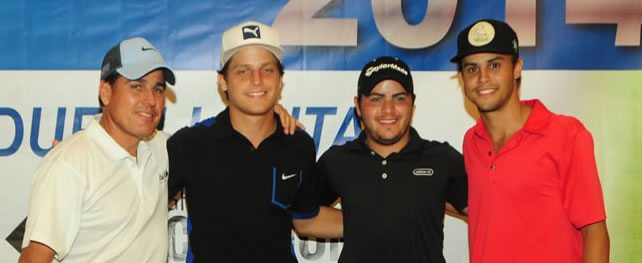 XI Torneo Expocomer quedó en manos de Augusto Arosemena, Carlos Fernández y Carlos Sacre