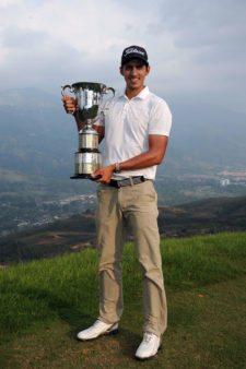 David Vanegas & Troofeo 67º Arturo Calle Colombian Open (Cortesía.PGALA.com)