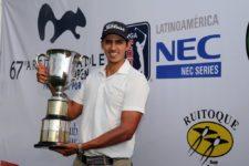 David Vanegas ganador 67º Arturo Calle Colombia Open del PGA LA