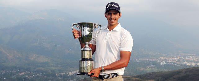 David Vanegas se apunta 1er evento del PGA LA 2014