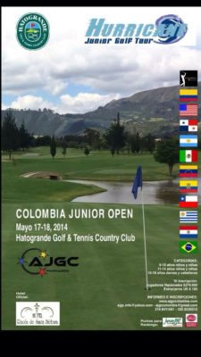 El Hurricane Junior Golf Tour en Colombia