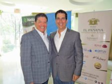 Edwin Iglesias y Carlos Sacre