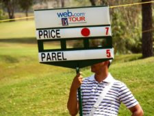 Price se separa por uno en el Web.com Panamá Claro