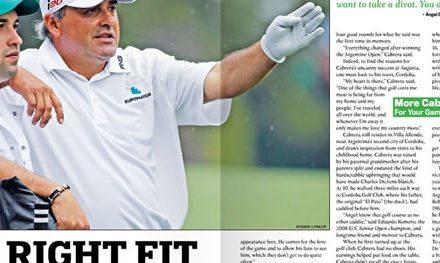 Ángel Cabrera en Golfweek, Abril 4, 2014