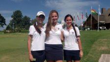 Sofia Garcia Austt, Priscilla Schmid y Catalina Comas - Uruguay Damas