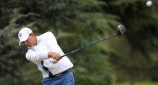 CÓRDOBA, ARGENTINA - ABRIL 17, 2014: El argentino César Costilla durante la primera ronda del 83° Abierto OSDE del Centro presentado por FiberCorp, evento que dio inicio este jueves en el Córdoba Golf Club. Enrique Berardi/PGA TOUR