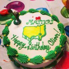 Torta de Oliver Goos - Mejor Amateur Masters 2014