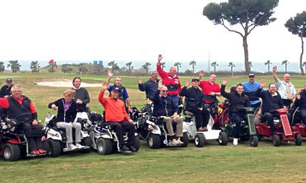 Comienza en Terramar el European Challenge for Wheelchair Golfers