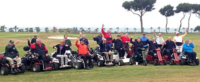 Comienza en Terramar el European Challenge for Wheelchair Golfers