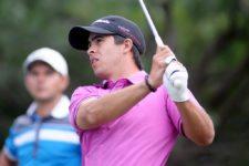 MONTEVIDEO, URUGUAY - ABRIL 24, 2014: El estadounidense Austin Graham durante la primera ronda del Roberto De Vicenzo Invitational Copa NEC en el Club de Golf del Uruguay. Enrique Berardi/PGA TOUR