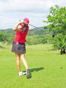 """Laura Restrepo, """"Es importante ser buen estudiante y ser buen golfista"""""""