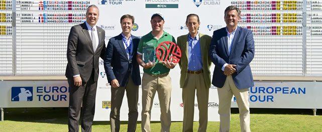 Gana el italiano Marco Crespi el NH Collection Open del European Tour