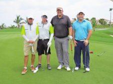 Luis Hincapié, Carlos Hincapié, Alejandro Rodríguez y Juan Carlos Vargas