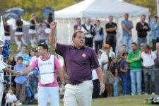 CÓRDOBA, ARGENTINA - ABRIL 19, 2014: El argentino Fermín Noste durante la tercera ronda del 83° Abierto OSDE del Centro presentado por FiberCorp en el Córdoba Golf Club en Córdoba, Argentina. Enrique Berardi/PGA TOUR