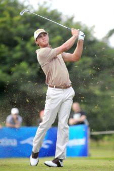 ÓRDOBA, ARGENTINA - ABRIL 19, 2014: El estadounidense William Kropp durante la tercera ronda del 83° Abierto OSDE del Centro presentado por FiberCorp en el Córdoba Golf Club en Córdoba, Argentina. Enrique Berardi/PGA TOUR