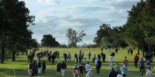 MONTEVIDEO, URUGUAY - 27 de abril: Durante la ronda final del Roberto De Vicenzo Invitacional Copa NEC en el Club de Golf del Uruguay el 27 de abril de 2014. Enrique Berardi/PGA TOUR