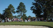 MONTEVIDEO, URUGUAY - ABRIL 26, 2014: Durante la tercera ronda del Roberto De Vicenzo Invitational Copa NEC en el Club de Golf del Uruguay. Enrique Berardi/PGA TOUR