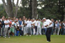 CORDOBA, ARGENTINA (ABRIL 20, 2014): El argentino Ángel Cabrera durante la ronda final del 83° Abierto OSDE del Centro presentado por FiberCorp en el Córdoba Golf Club en Córdoba, Argentina. Enrique Berardi/PGA TOUR