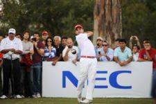 CORDOBA, ARGENTINA (ABRIL 20, 2014): El colombiano Marcelo Rozo durante la ronda final del 83° Abierto OSDE del Centro presentado por FiberCorp en el Córdoba Golf Club en Córdoba, Argentina. Enrique Berardi/PGA TOUR