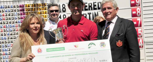 Alfredo García Heredia logra victoria del Campeonato Profesional de España