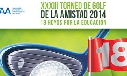 """AVAA realiza el XXXIII Torneo de Golf de la Amistad """"Copa Chevron"""""""