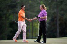 Ricky Fowler & Miguel Ángel Jiménez (cortesía The Masters/ Getty Images).slide_345416_3613853_free
