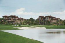Río Hato, Panamá (MAYO 20, 2014): Vista del green del hoyo 7 del Buenaventura Golf Club durante una ronda de práctica previa al Lexus Panama Classic, primer evento del NEC Series-PGA TOUR Latinoamérica que se celebra en Panamá (Enrique Berardi/PGA TOUR)