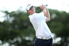 Río Hato, Panamá (MAYO 22, 2014): El estadounidense Rick Cochran III durante la primera ronda del Lexus Panama Classic en Buenaventura Golf Club. Enrique Berardi/PGA TOUR