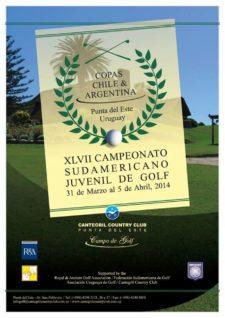 XLVII Campeonato Sudamericano Juvenil realizado en el Club de Golf de Punta del Este, Uruguay