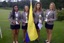 Suramericano Juvenil Campeonas (cortesía Fedegolf)