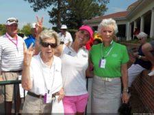 Belén con representantes de la Federación Española de Golf en Pinehurst