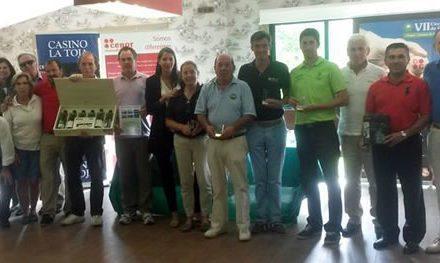 Disputada la séptima prueba clasificatoria del VII Circuito de golf Cenor-Camino de Santiago