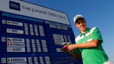 Irlandés Leblanc se coronó en el Junior Open en Inglaterra (cortesía The Junior Open)
