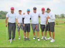 Luigi Bemporad, Felipe Tong, participante del evento, Máximo García, Leo Gutierrez y Juan Carlos Baquero