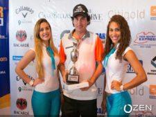 Leo Gutierrez - Ganador del Eurocar Open en Mantarraya Golf Club