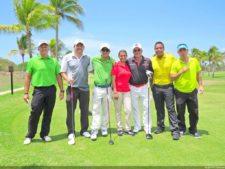 Juan Carlos Patiño, Emilio Guinard, Delkis Barba, Víctor Bonifatti, Arturo Uzcátegui y Alex Guerra