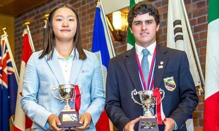Pichu García compite en el Wynham Cup