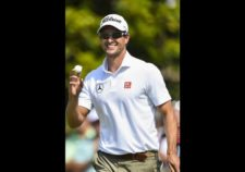 Adam Scott de Australia (cortesía Stuart Franklin / Getty Images)