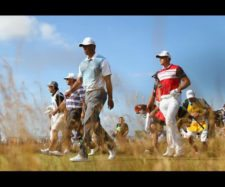 Tiger Woods (cortesía Matthew Lewis /Getty Images)