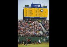 Rory en el hoyo 18 (cortesía Stuart Franklin / Getty Images)