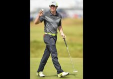 Rory McIlroy en hoyo 5 (cortesía Stuart Franklin / Getty Images)