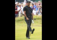 Tiger en hoyo 7 (cortesía Andrew Redington / Getty Images)