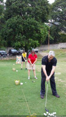 Carlos Fraga haciendo unos Swings en el CCC