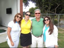 Shele Pérez Paris, María Mercedes Cervoni, Marco Vinicio De Lacavalerie y Vanessa Rodríguez