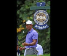 Tiger Woods (cortesía PGA / Thomas J. Russo - Getty Images)