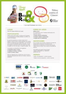 Cartel Torneo infantil Beatriz Recari