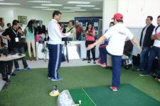 Clínica física de golf inicia IX Gira Nacional de Golf Movistar (cortesía Pizzolante.com)