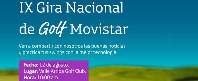 Clínica física de golf inicia IX Gira Nacional de Golf Movistar