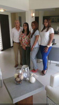 Equipo de Costa Blanca Villas Victor Jaen Katherine Reyes Gerente de Proyectos, Karen Palacio, Sasha Howard