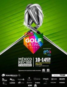 Afiche Copa Golf Latino (cortesía www.portalsma.mx)